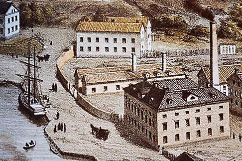 image 5-720-6747 Sweden, Gustavsberg, Painting of Old Stockholm