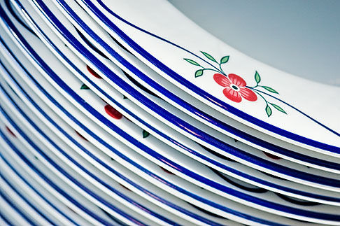 image 5-720-6803 Still life, Porcelain plates
