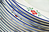 curved stock photography | Still life, Porcelain plates, image id 5-720-6803