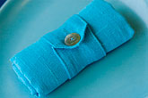 hand crafted stock photography | Textiles, Blue cloth Napkin, image id 5-720-6809
