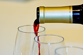 glass stock photography | Wine, Pouring red wine, image id 5-720-6867