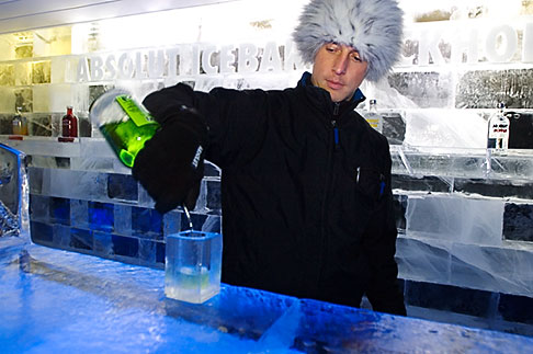 image 5-720-6888 Sweden, Stockholm, Absolut Ice Bar