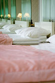 bed stock photography | Sweden, Stockholm, Lydmar Hotel, image id 5-720-7391