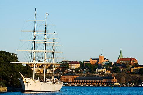 image 5-720-7776 Sweden, Stockholm, Af Chapman clipper ship