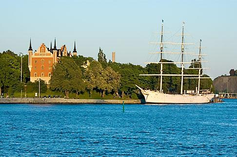image 5-720-7787 Sweden, Stockholm, Af Chapman clipper ship