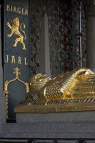 image 5-720-7829 Sweden, Stockholm, Stadshuset, Tomb of Birger Jarl