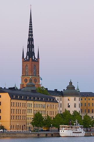 image 5-720-7875 Sweden, Stockholm, Riddarholmen church