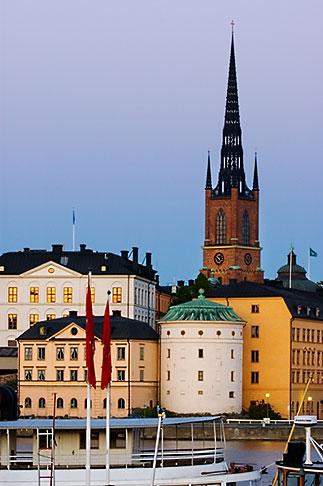 image 5-720-7888 Sweden, Stockholm, Riddarholmen church