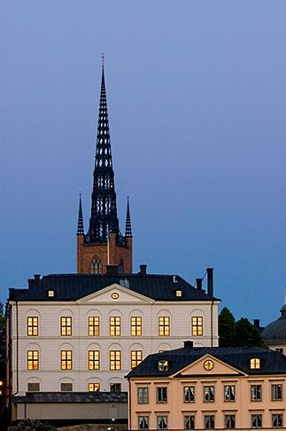 image 5-720-7899 Sweden, Stockholm, Riddarholmen church