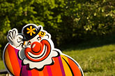 juxtapose stock photography | Sweden, Grinda Island, Clown, image id 5-730-6226