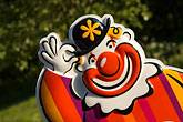 amusement stock photography | Sweden, Grinda Island, Clown, image id 5-730-6227