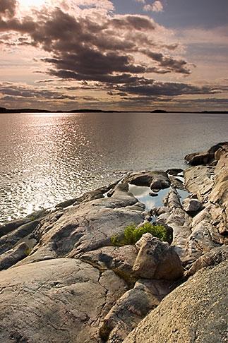 image 5-730-6460 Sweden, Grinda Island, Rocky shoreline