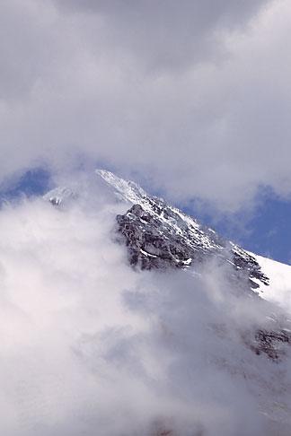 image 2-102-31 Switzerland, Alps, Summit of the Monch through the mist