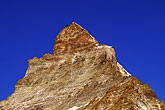simplicity stock photography | Switzerland, Alps, Matterhorn, H�rnli route, image id 2-104-2