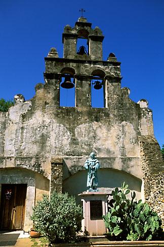 image 1-701-27 Texas, San Antonio, Mission San Juan Capistrano