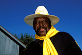 blue stock photography | Texas, San Antonio, Institute of Texas Cultures, Buffalo Soldier, image id 1-702-13