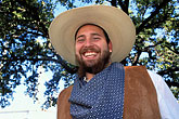 one man only stock photography | Texas, San Antonio, Institute of Texas Cultures, Living History Day, image id 1-702-17