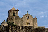 fort church stock photography | Texas, Goliad, Presidio la Bah'a, image id 1-720-23