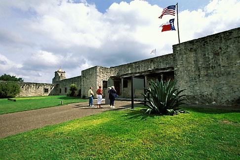 image 1-720-43 Texas, Goliad, Presidio la Bahia