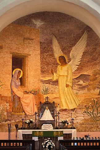 image 1-720-47 Texas, Goliad, Presidio la Bahia, Our Lady of Loreto Chapel