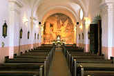roman catholic church stock photography | Texas, Goliad, Presidio la Bah'a, Our Lady of Loreto Chapel, image id 1-720-52