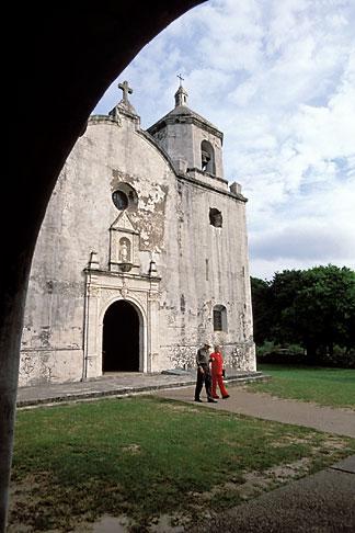 image 1-721-15 Texas, Goliad, Mission Espiritu Santo de Zuniga