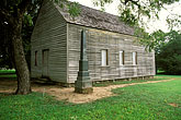 old houses stock photography | Texas, Washington on the Brazos, Texas Independence Hall, image id 1-750-5