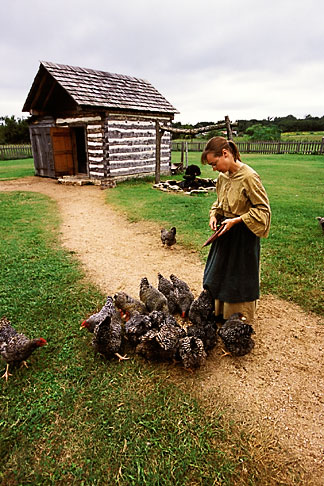 image 1-750-66 Texas, Washington on the Brazos, Barrington Farm, Living History