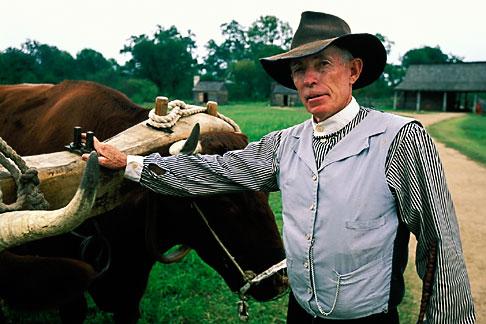 image 1-750-70 Texas, Washington on the Brazos, Barrington Farm, Living History