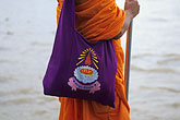 bag stock photography | Thailand, Bangkok, Buddhist monk, image id 0-350-16