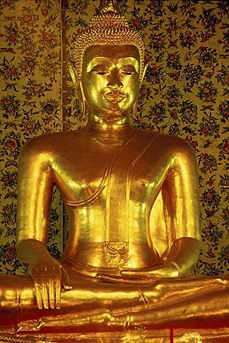 image 0-350-2 Thailand, Bangkok, Buddha, Wat Sam Phraya