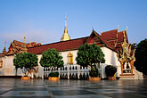 dawn stock photography | Thailand, Chiang Mai, Wat Phra That Doi Suthep, image id 0-360-20