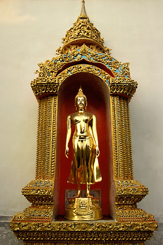 image 0-361-36 Thailand, Chiang Mai, Golden Buddha, Wat Phra That Doi Suthep