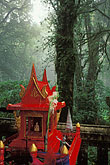 red stock photography | Thailand, Chiang Mai, Shrine at Doi Inthanon, highest peak in Thailand, image id 0-363-17