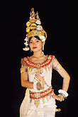costumed dancers stock photography | Thailand, Chiang Mai, Thai dancer, image id 0-364-17