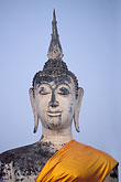 orange stock photography | Thailand, Sukhothai, Wat Mahathat, image id 0-380-29