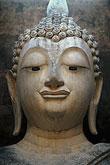 portrait stock photography | Thailand, Sukhothai, Phra Achana, Wat Si Chum, image id 0-380-58
