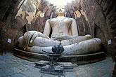 cross legged stock photography | Thailand, Sukhothai, Phra Achana, Wat Si Chum, image id 0-380-68