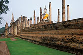 asian stock photography | Thailand, Sukhothai, Wat Mahathat, image id 0-381-78
