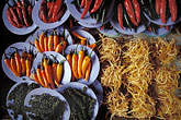 close up stock photography | Thailand, Bangkok, Chillies in market, Nonthaburi, image id 7-504-37