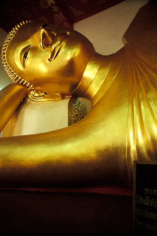 image 7-508-38 Thailand, Nakhon Pathom, Reclining Buddha, Pra Pathom Chedi