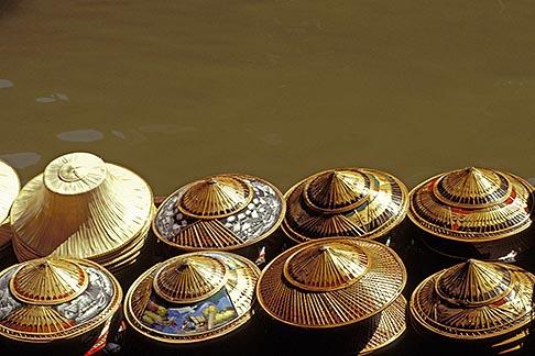 image 7-511-28 Thailand, Bangkok region, Floating market, Damnern Saduak