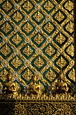 pattern stock photography | Thailand, Bangkok, Temple building detail, Wat Pra Keo, image id S3-101-4