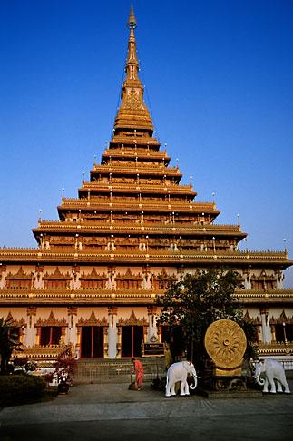 image S3-103-2 Thailand, Khon Kaen, Wat Nongwang