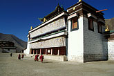 on foot stock photography | Tibet, Labrang Tibetan Buddhist Monastery, Xiahe, image id 4-127-24