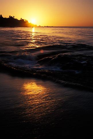 image 8-31-2 Tobago, Sunset, Grafton Beach
