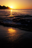 sea stock photography | Tobago, Sunset, Grafton Beach, image id 8-31-2