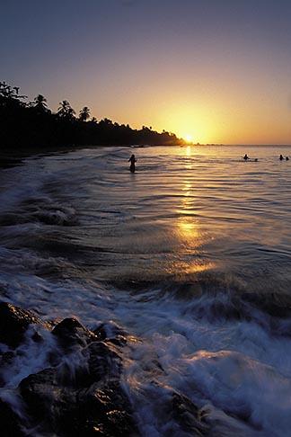 image 8-31-4 Tobago, Sunset, Grafton Beach