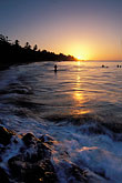 caribbean beach sunset stock photography | Tobago, Sunset, Grafton Beach, image id 8-31-4