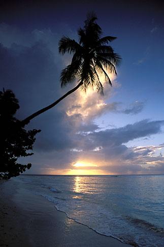 image 8-49-5 Tobago, Sunset, Pigeon Point